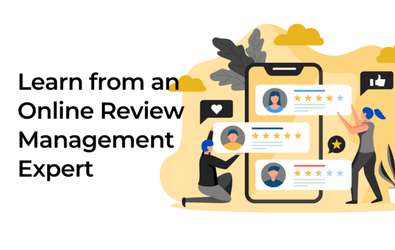 Learn from an Online Review Management Expert 1