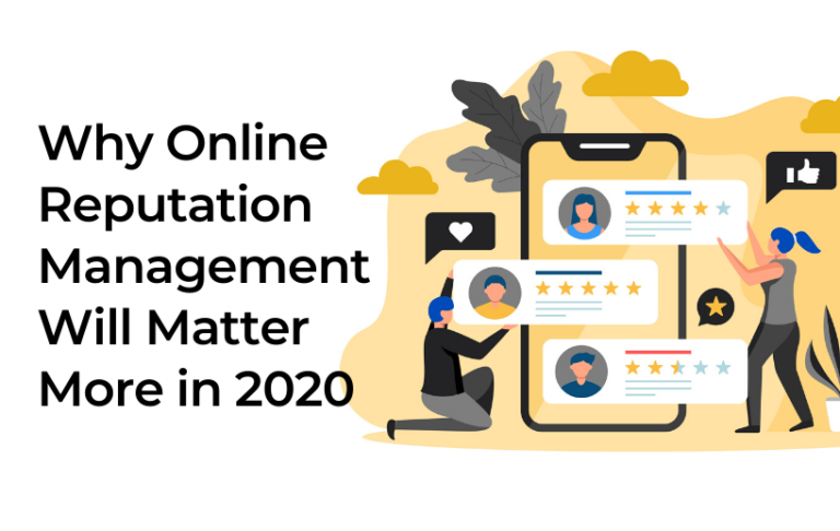Why Online Reputation Management Will Matter More in 2020 5